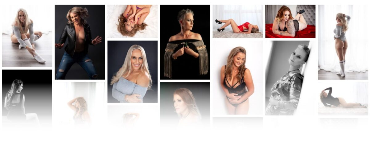 Glamour photography collection