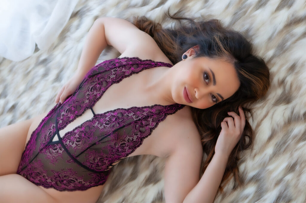 Lay down Glamour photography Australian